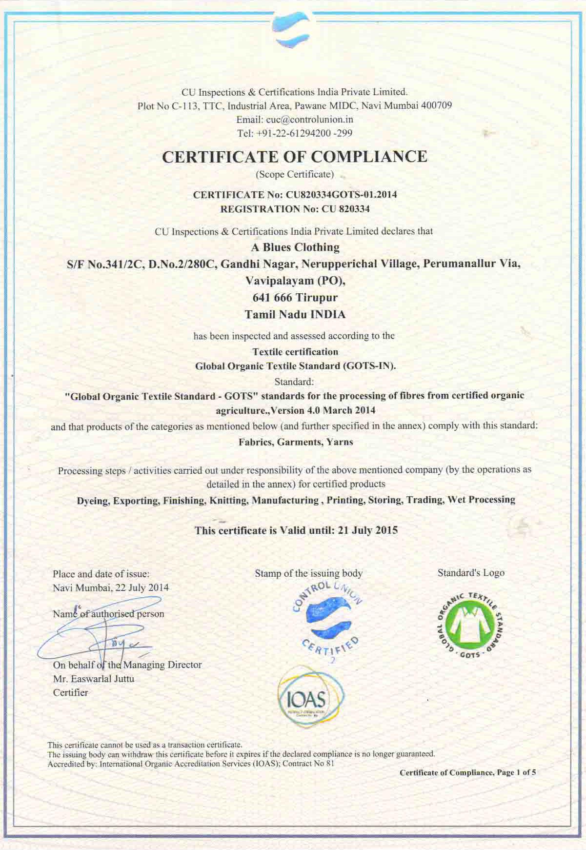 certification abc